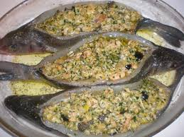 cuisine tunisienne poisson bar farcie d une touche tunisienne filkoujina