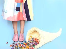 how to make a cornucopia piñata for your friendsgiving brit co