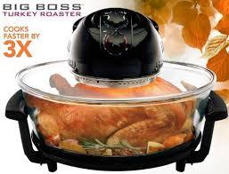Toaster Oven Turkey Big Boss Rapid Wave Halogen Infrared Convection Turkey Roaster