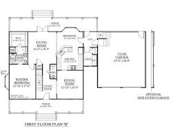 Simple Colonial House Plans House Plan 2109 B Mayfield