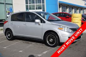 nissan tiida interior 2009 used 2009 nissan versa 1 8 s for sale in murray hatchback