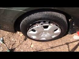 toyota corolla 2006 hubcap how to change wheel cover toyota corolla years 2002 2008