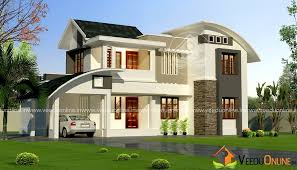 Home Design 2000 Square Feet Square Feet Double Floor Contemporary Home Designs