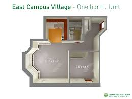 Types Of Apartment Layouts East Campus Village Residence Services University Of Alberta