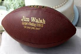 personalized football custom engraved football gifts for men