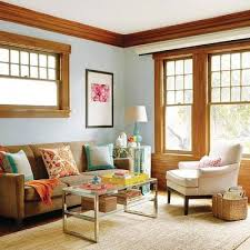 can u0027t paint the oak trim so how to i update love the blue wall
