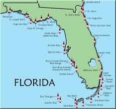 Florida how to travel light images Florida map of lighthouses lt lighthouse 39 s shine your light on jpg