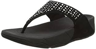 flip flop fitflop women s novy toe post flip flop sandals