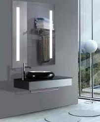 Anti Mist Bathroom Mirror Led Integrated Backlit Bathroom Mirror Modern Anti Fog Sink Heated