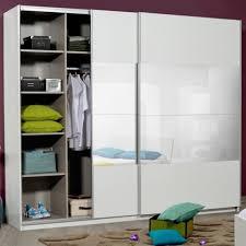 dressing chambre pas cher armoire dressing blanche 2 portes l 260 x l 65 x h 223