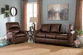 Chocolate Living Room Furniture by Ashley Lottie Chocolate Queen Sleeper Sofa Mathis Brothers Furniture