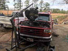 what engine hoist will pick up a 7 3 let me show you ford