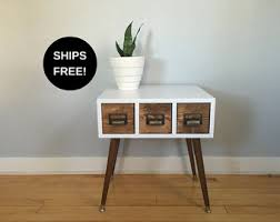 Free Shaker End Table Plans by End Table Etsy