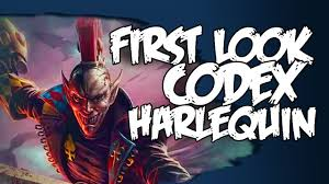 harlequin codex first look review eldar youtube