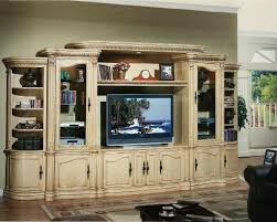 living light wood entertainment center wall unit wall units for