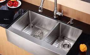 Kohler Whitehaven Sink 36 by 100 Single Bowl Cast Iron Kitchen Sink Standard Plumbing