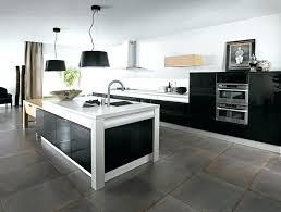 les plus belles cuisines contemporaines cuisine acquipace noir cuisine noir brillant les plus belles