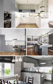 modern grey kitchen cabinets 55 gorgeous gray kitchen ideas