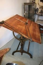 Large Drafting Table Great Large Cast Iron Drafting Table At 1stdibs