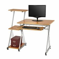 Realspace Dawson Computer Desk Easy Computer Desk At Office Depot Realspace Dawson 60 Brushed