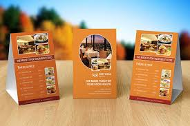 Table Tents Template 10 Best Free Table Tent Templates