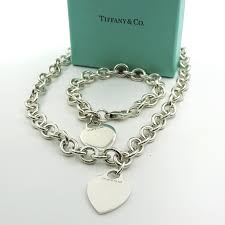 tiffany tag necklace images Tiffany co heart tag sterling silver necklace the jewelry box jpg