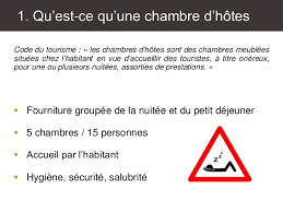 chambre d hote legislation la réglementation des chambres d hôtes