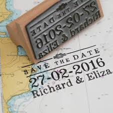 Save The Date Stamp Nautical Save The Date Stamp By English Stamp Company