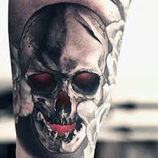 Amazing Skull - 57 spectacular skull tattoos designs made by tattooers