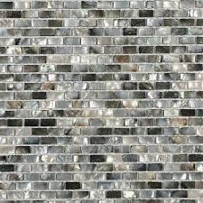 splashback tile mother of pearl deep ocean gray 12 in x 12 in x