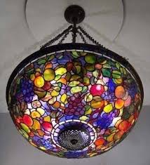 Tiffany Chandelier Lamps Tiffany Stained Glass Chandelier Foter