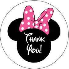 minnie mouse thank you cards unbranded minnie mouse greeting cards invitations ebay
