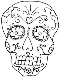 printable coloring pages sugar skulls skull color pages sugar skull coloring pages coloring pages skull