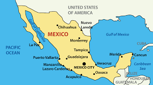 Map Of Yucatan Mexico by Mexico Luxury Yacht Charters