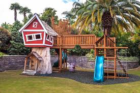 Backyard Play Structure by Superb Little Tikes Swing Set In Kids Traditional With Tree Stumps