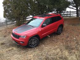 jeep trailhawk on the road review jeep grand cherokee trailhawk the ellsworth