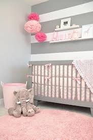 décoration murale chambre bébé fille idee deco chambre bebe fille gris moderne bacbac chambre