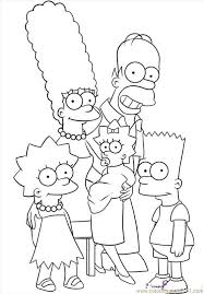 simpson coloring pages pin by gina ross on coloring pages the simpsons pinterest