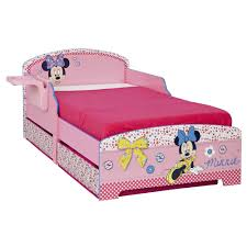 Toddler Bed Frame With Storage Character Disney Junior Toddler Beds With Storage Shelf