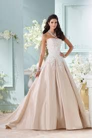aliexpress com buy champagne satin plus size ball gown wedding