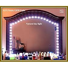 Makeup Vanity Mirror With Lights Luxled Luxurious Anti Glare Led Lights Vanity Makeup Cosmetic