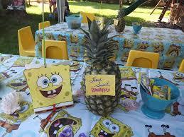 spongebob square pants birthday party ideas photo 1 of 40