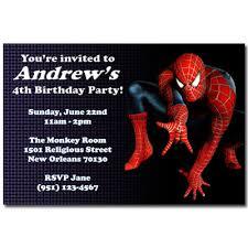 spiderman birthday invites printable free visit to grab an