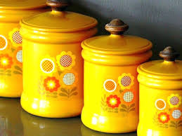 metal canisters kitchen flour and sugar canister sets vintage kitchen canister sets image of