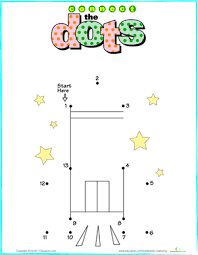 connect the dots rocket worksheet education com