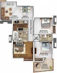 one floor plan merlin the one in tollygunge kolkata price location map floor
