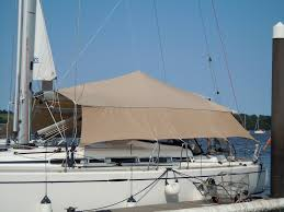 Awning Boat Dolphin Yacht Tensile Awnings Dolphin Sails