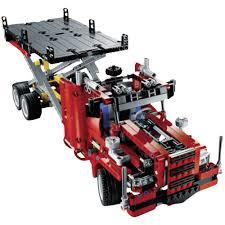 lego technic truck lego technic 8109 flatbed truck from conrad com