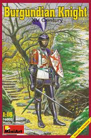 knight xv miniart 16003 1 16 burgundian knight xv century ebay