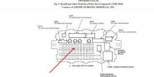 honda civic si fuse box 2000 wiring diagrams instruction
